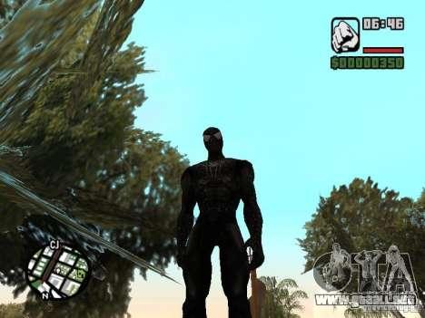 Enemigo del hombre araña en la reflexión para GTA San Andreas segunda pantalla