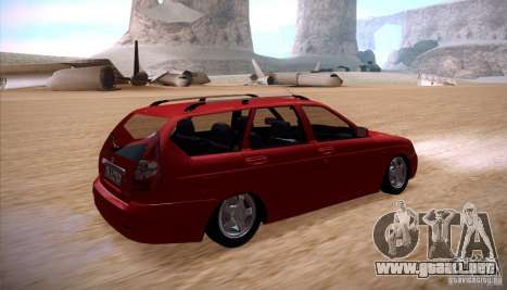 VAZ Lada Priora 2171 para GTA San Andreas left