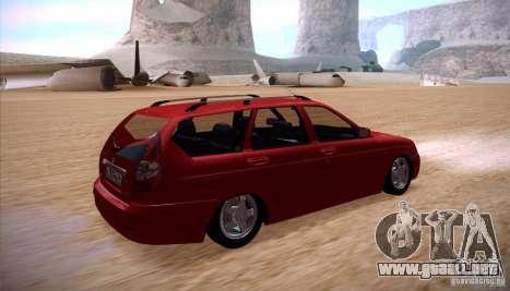 VAZ Lada Priora 2171 para GTA San Andreas left