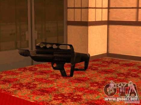 Pancor Jackhammer para GTA San Andreas sexta pantalla