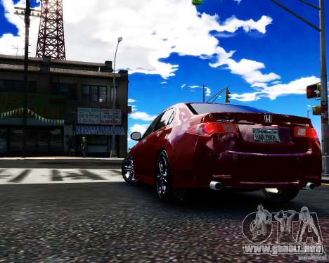Honda Accord Tuning by Type-S para GTA 4 left