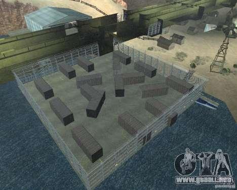 Dragón base v2 para GTA San Andreas segunda pantalla