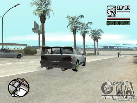 Elegy First Update By reNz para la visión correcta GTA San Andreas