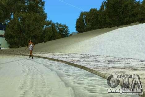 Snow Mod v2.0 para GTA Vice City tercera pantalla