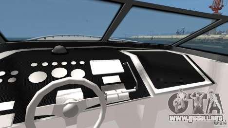 Nuevo Jetmax para GTA 4 vista hacia atrás