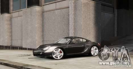 Porsche Cayman para GTA 4 left
