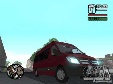 Mercedes-Benz Sprinter 313 CDi para GTA San Andreas left