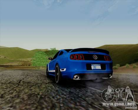 Ford Mustang Boss 302 para GTA San Andreas left