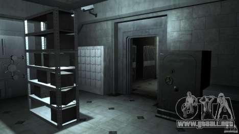 Bank robbery mod para GTA 4 segundos de pantalla