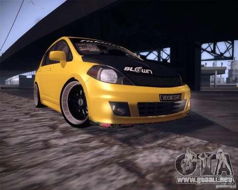 Nissan Versa Tuned para GTA San Andreas left