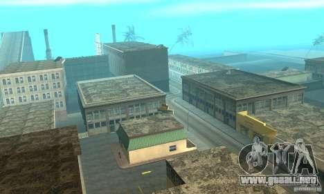 New Island para GTA San Andreas sucesivamente de pantalla