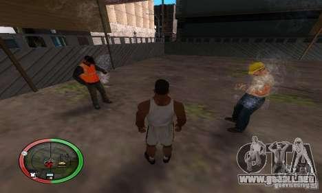NEW STREET SF MOD para GTA San Andreas segunda pantalla