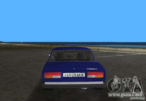 Auto LADA VAZ 2107 para GTA Vice City vista lateral izquierdo
