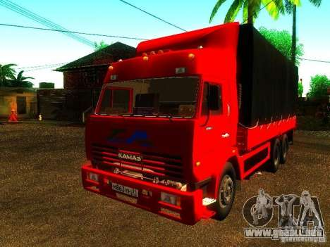 KAMAZ 53215 para GTA San Andreas