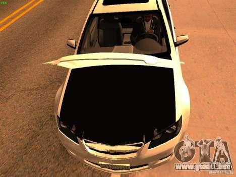 Chevrolet Lumina para la visión correcta GTA San Andreas