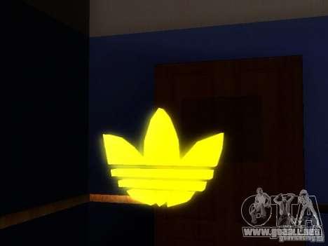 Adidas Logo para GTA San Andreas segunda pantalla