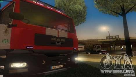 MAn TGL Riga FC para la visión correcta GTA San Andreas