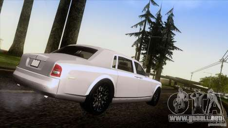 Rolls Royce Phantom Hamann para GTA San Andreas left