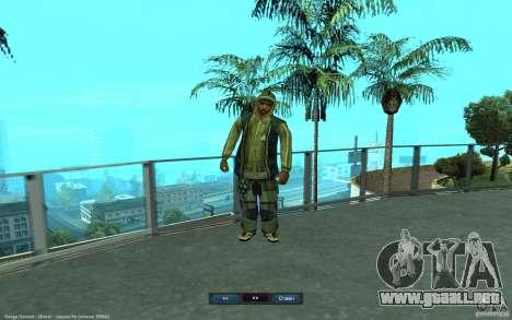 Crime Life Skin Pack para GTA San Andreas sexta pantalla