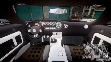 Ford Hennessey GT1000 2006 v2.0 EPM para GTA 4 visión correcta