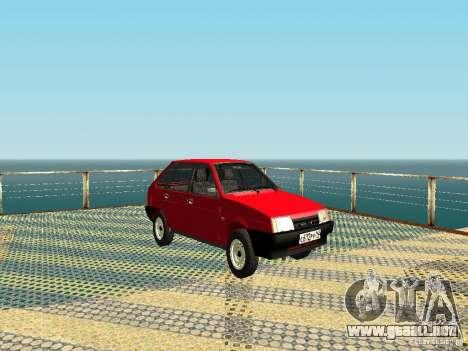 VAZ 2109 v2 para GTA San Andreas