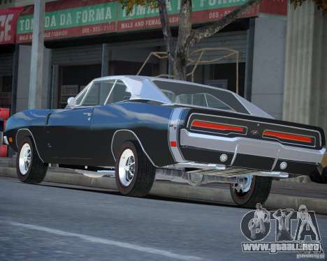 Dodge Charger RT Stock [EPM] para GTA 4 left