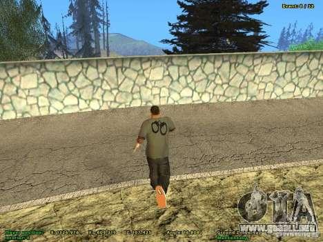 DMX para GTA San Andreas segunda pantalla