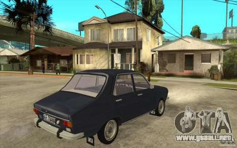 Dacia 1300 v2 para la visión correcta GTA San Andreas