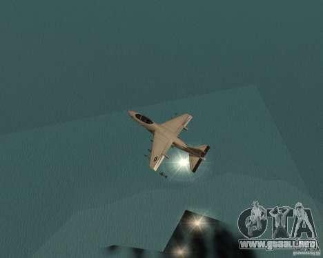 Cluster Bomber para GTA San Andreas quinta pantalla