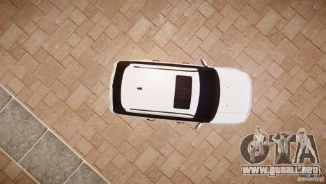 Range Rover Sport Supercharged v1.0 2010 para GTA 4 vista hacia atrás