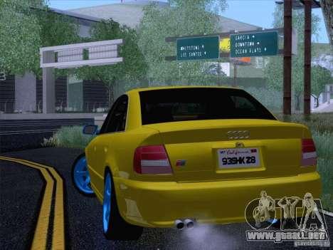 Audi S4 DatShark 2000 para la visión correcta GTA San Andreas