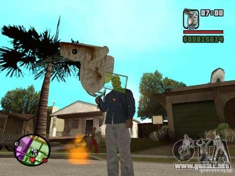 Inodoro para GTA San Andreas segunda pantalla