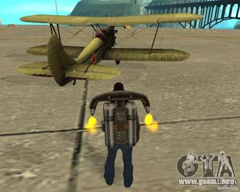 En-2 para la visión correcta GTA San Andreas