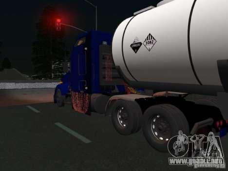 Kenwort T800 Carlile para visión interna GTA San Andreas