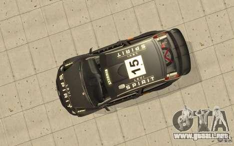 2 trabajos de pintura para el Ford Focus RS WRC  para visión interna GTA San Andreas