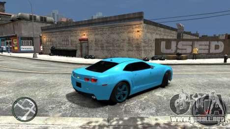 Chevrolet Camaro SS para GTA 4 left