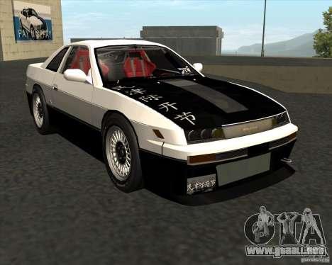 Nissan Silvia S13 streets phenomenon para GTA San Andreas left