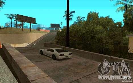 Coches deportivos cerca de Grove Street para GTA San Andreas tercera pantalla