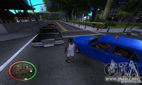 NEW STREET SF MOD para GTA San Andreas quinta pantalla