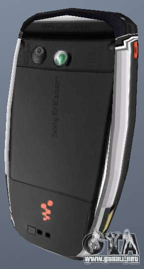 Sony Ericsson W880i para GTA San Andreas segunda pantalla