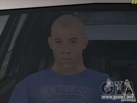 Vin Diesel para GTA San Andreas tercera pantalla