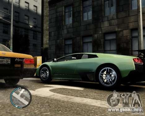 Lamborghini Murcielago LP 670-4 SuperVeloce 2010 para GTA 4 left
