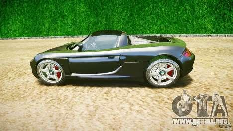 Porsche Carrera GT v.2.5 para GTA 4 vista interior
