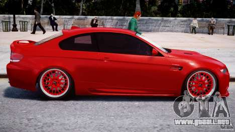 BMW M3 Hamann E92 para GTA 4 vista superior