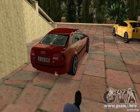 Audi A8 4.2 quattro para GTA Vice City left