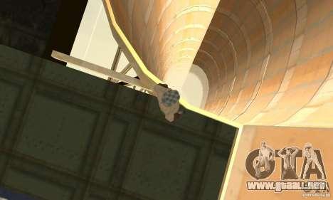 Airport Stunt para GTA San Andreas quinta pantalla