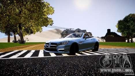 Mercedes-Benz SLK 2012 para GTA 4 left