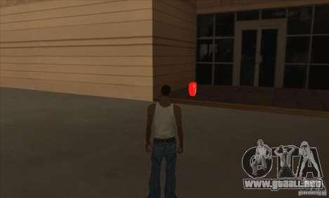 Botiquines de primeros auxilios para GTA San Andreas quinta pantalla