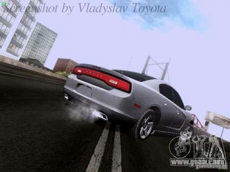 Dodge Charger 2013 para la visión correcta GTA San Andreas