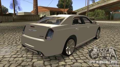 Chrysler 300 SRT-8 2011 V1.0 para la visión correcta GTA San Andreas